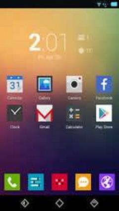Minimal UI android theme