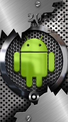 Android metal Locker