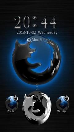 Black Firefox locker