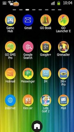 Colorful Go Launcher Ex Theme V1.5