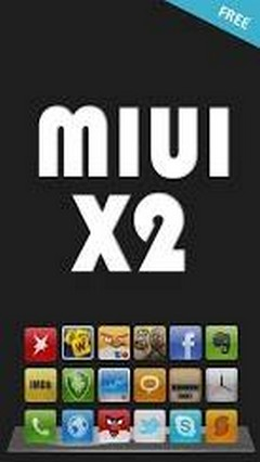 MIUI X2 Android Go Launcher Theme