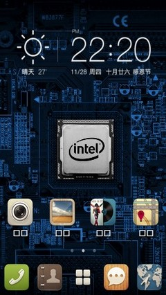 Intel Chip for 360 Launcher