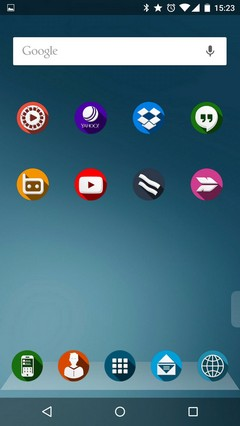 Next Launcher theme Shader2D