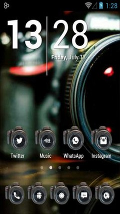 Camera Android Theme
