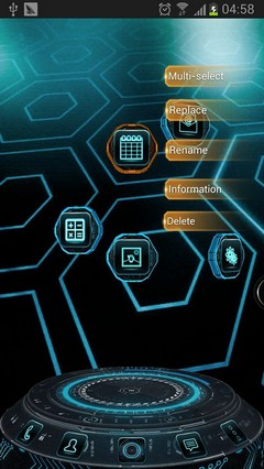 Tech Next Launcher 3D Theme