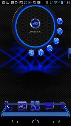 Blue Krome Theme