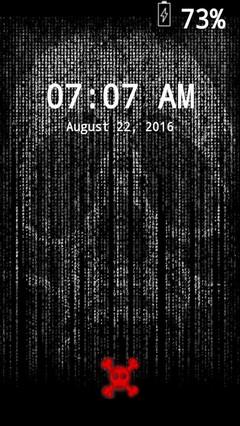 Digital Skull Locker