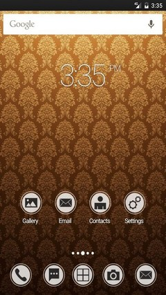 Wallpaper vintage GO Launcher Theme