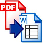 Pdf to Word-Excel-Html