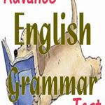 Advanced English Grammar Quiz