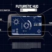 Iron HUD Futuristic vision
