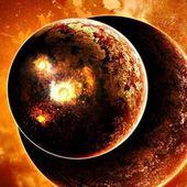 3D cosmic space wallpaper