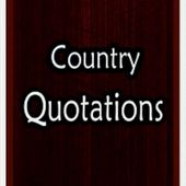 Country-quotes