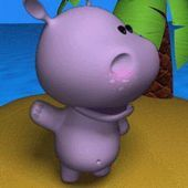 talking baby hippo v1.0.apk