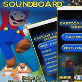 Cartoon & Videogame Soundboard