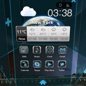 Next Launcher Black Designe v1.0