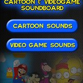 Cartoon and VideoGame Soundboard