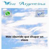 Frases Argentina WhatsApp