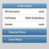 Facebook H@ ck PRO Profile Grab v1.0