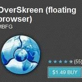 OverSkreen Browser For Android