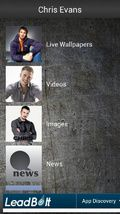 Chris Evans Fan App