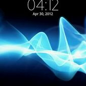 Digital Clock Xperia