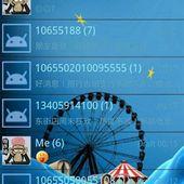 Circus Go SMS Theme