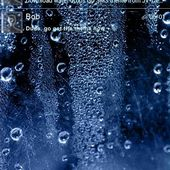 Water Drops Go SMS Pro Theme