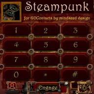 Steampunk GO ContactsEx Theme