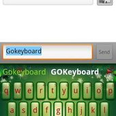 GO Keyboard Christmas theme