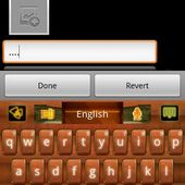 Wood Theme GO Keyboard