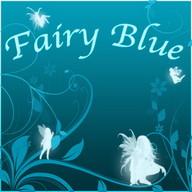 Fairy Blue Clock