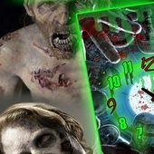 Zombie Face Alarm Clock LWP