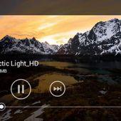 Xperia V movies app