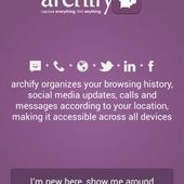 archify- capture everything, find anything