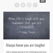 1 Happy Thought - Free Quotes App