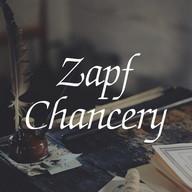 Zapf Chancery Deutsch FlipFont