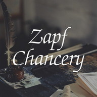 Zapf Chancery Polsku FlipFont