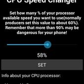CPU TUNER SPEED CHANGE NO ROOT