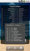 Football Livescore Widget