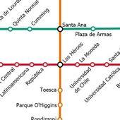 Santiago Metro +