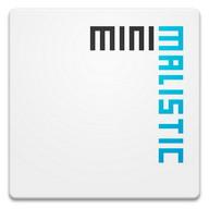 Minimalistic Text: Widgets