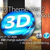 3D Icons v2 for Go Launcher EX v1.0