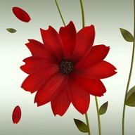 A Flower Atom theme