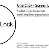 One Click - Screen Lock Pro v1.1