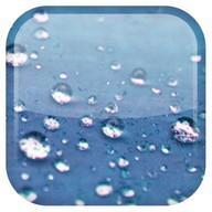 Pluie fond d'écran animé