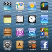 Fake iPhone 5 Theme Launcher
