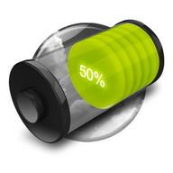 3D Design Battery Widget (Paid)