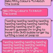 Hello Kitty Go SMS Theme