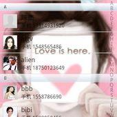 Sweet Loving GO Contact Theme